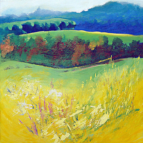 Yellow Meadow - Art Print