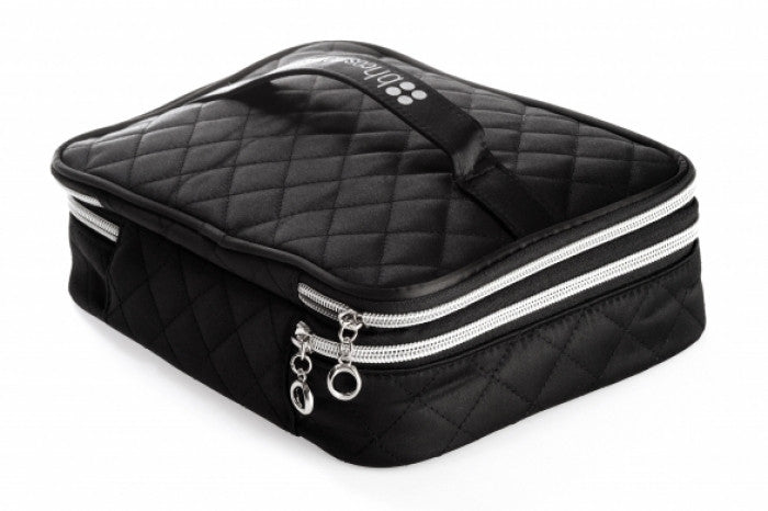 0a592742a2b3 BH Cosmetics Black Quilted Cosmetic Bag - Robert Fiance Makeup Academy