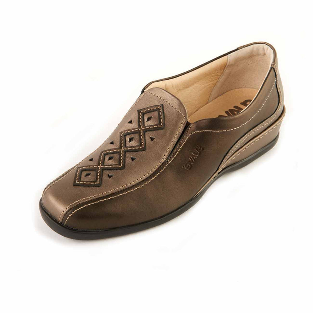 Shoes by Suave, Women's Leather Slip-on Comfort Shoe