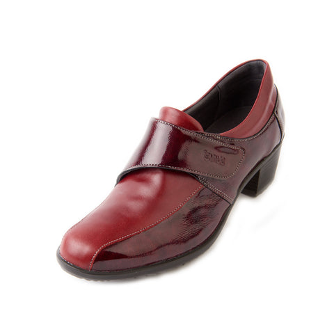 Alison - Burgundy/Patent Leather Shoe