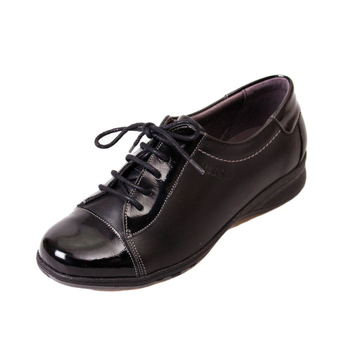 Becca - Black/Patent Leather Shoe