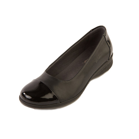 Beth - Black/Patent Shoe