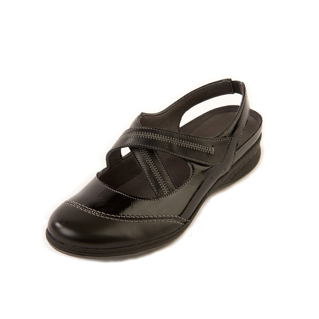 Shoes by Suave, Women's Leather Comfort Sandal, Women's Leather Shoe