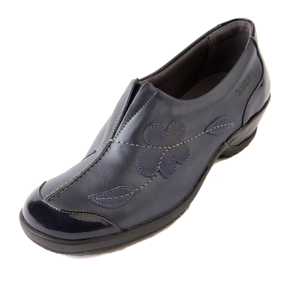 Divina - Navy/Patent Leather Shoe