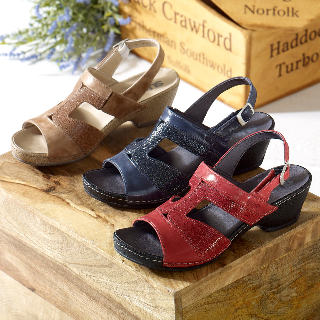 Gabi - Tan Leather Sandal