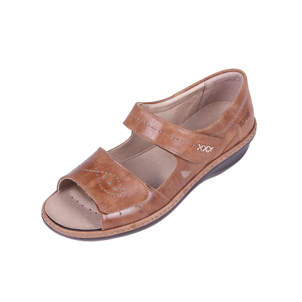 Hilda - Tan Leather Sandal
