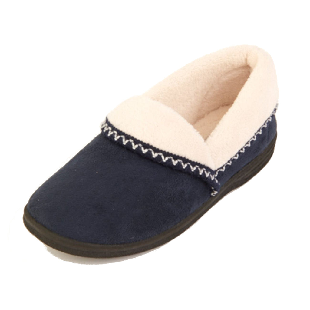 Ila - Navy Slipper