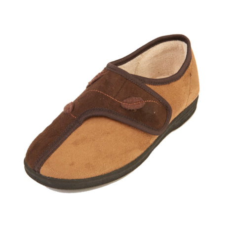 Ilene - Brown/Tan Slipper