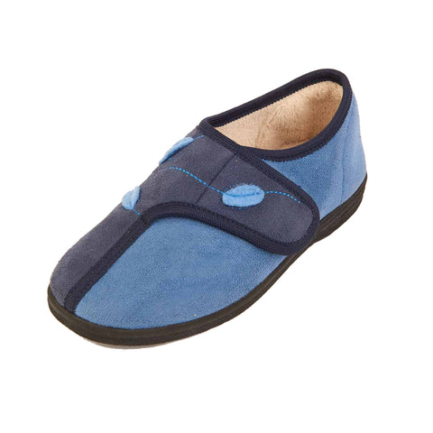 Ilene - Navy/Sky Slipper