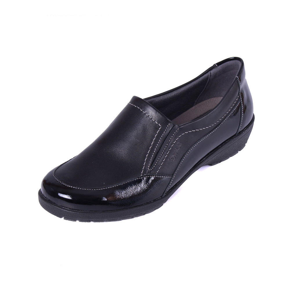 Jan - Black / Patent Leather Shoe