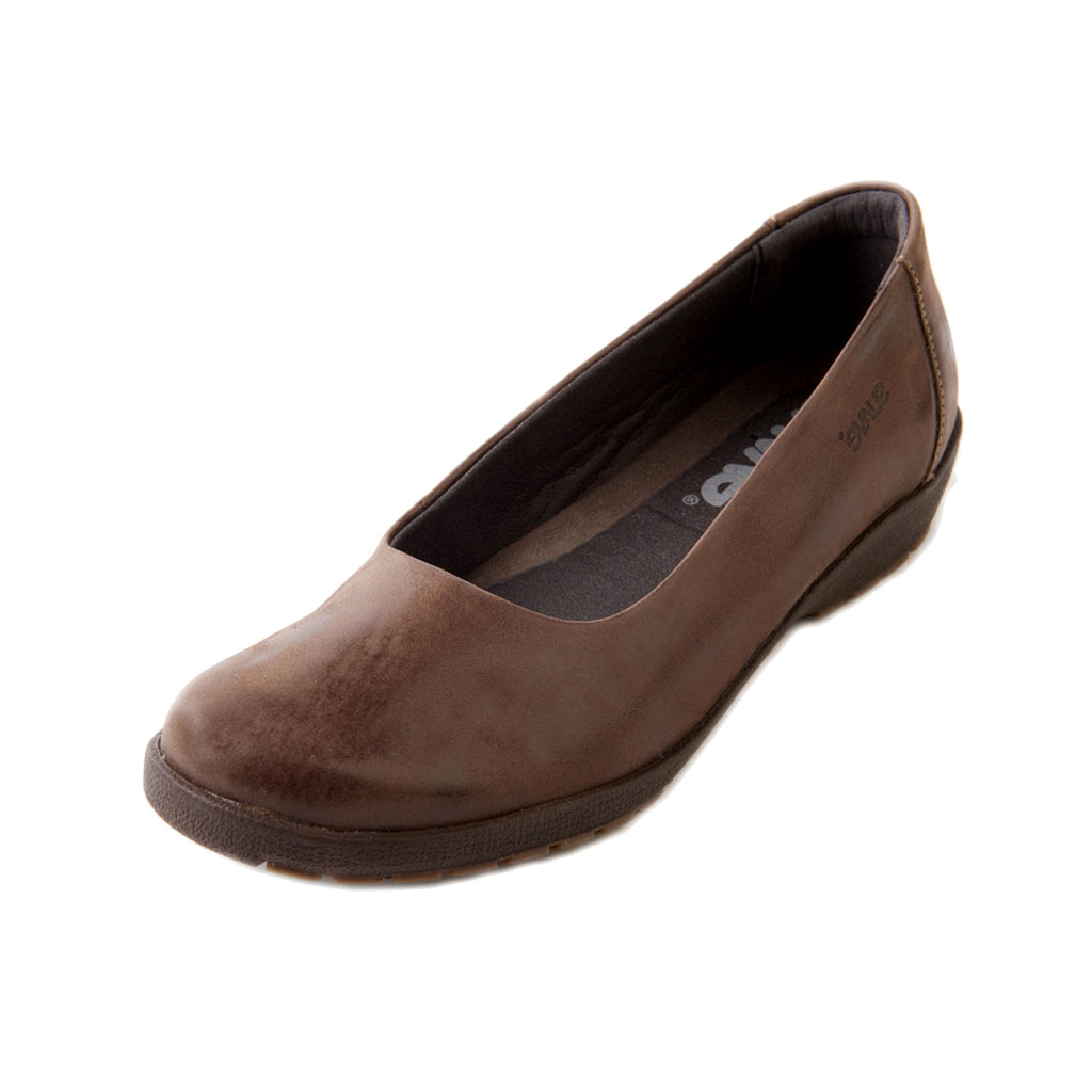 Jewel - Coffee Leather Shoe
