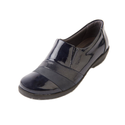 Jill - Navy/Patent Leather Shoe
