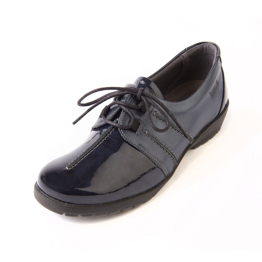 d228897e204 Shoes suave women leather lace up comfort shoe jpg 1024x1024 Navy patent  leather shoes