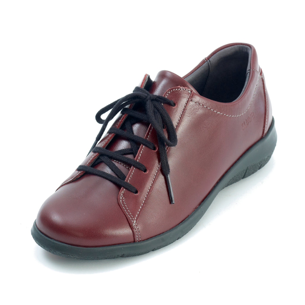 Laurel - Dark Red Leather Shoe