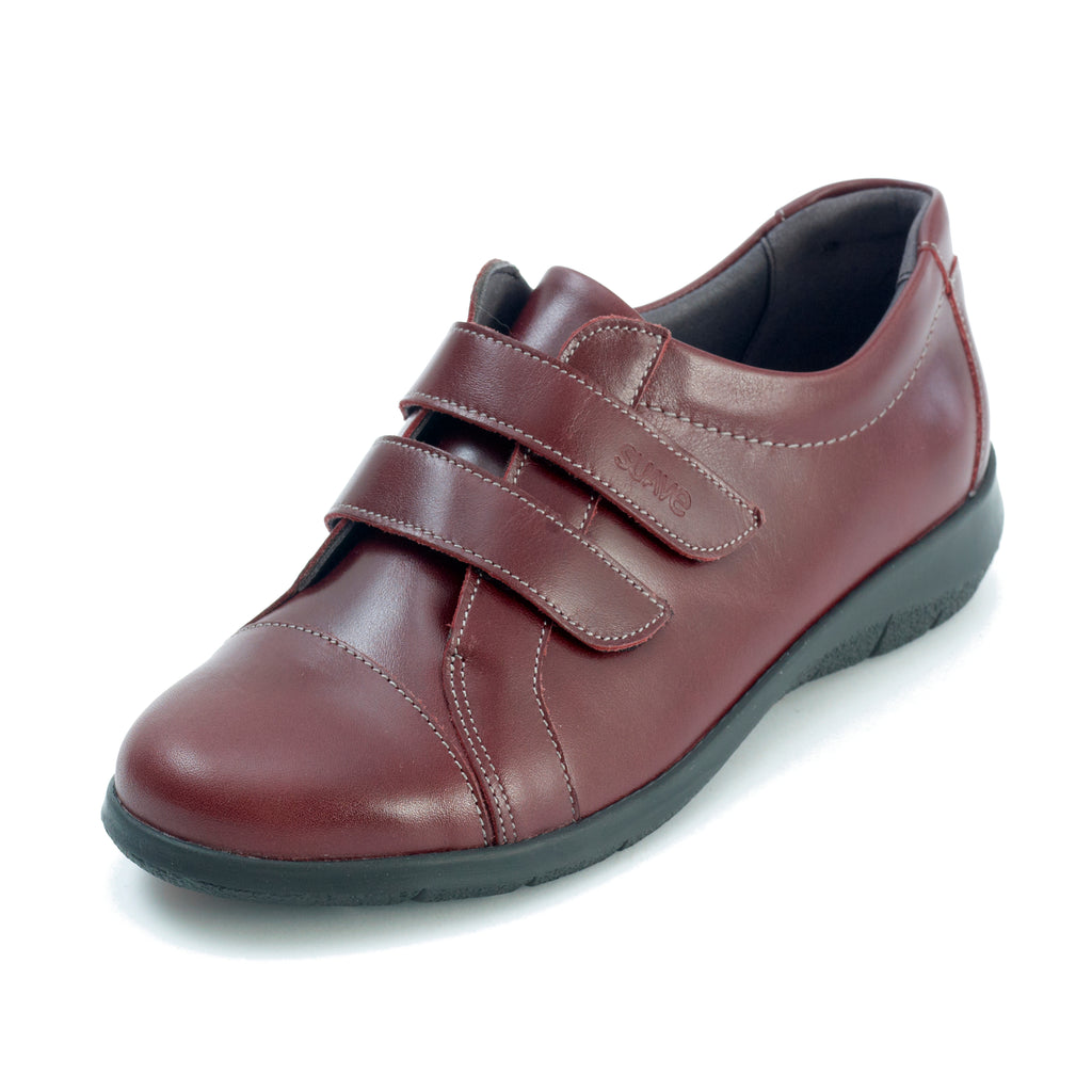 Louise - Dark Red Leather Shoe