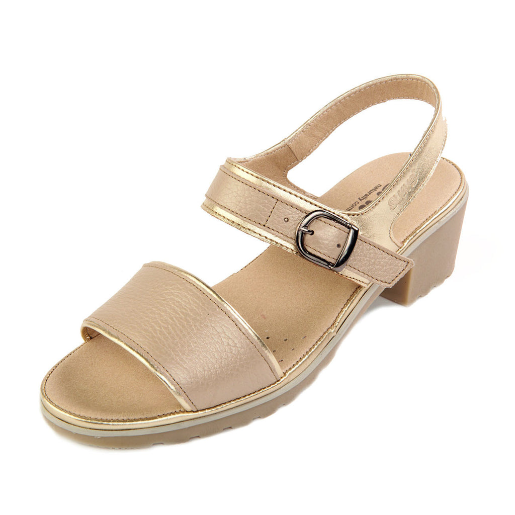 Shoes by Suave, Women's Leather Comfort Sandal