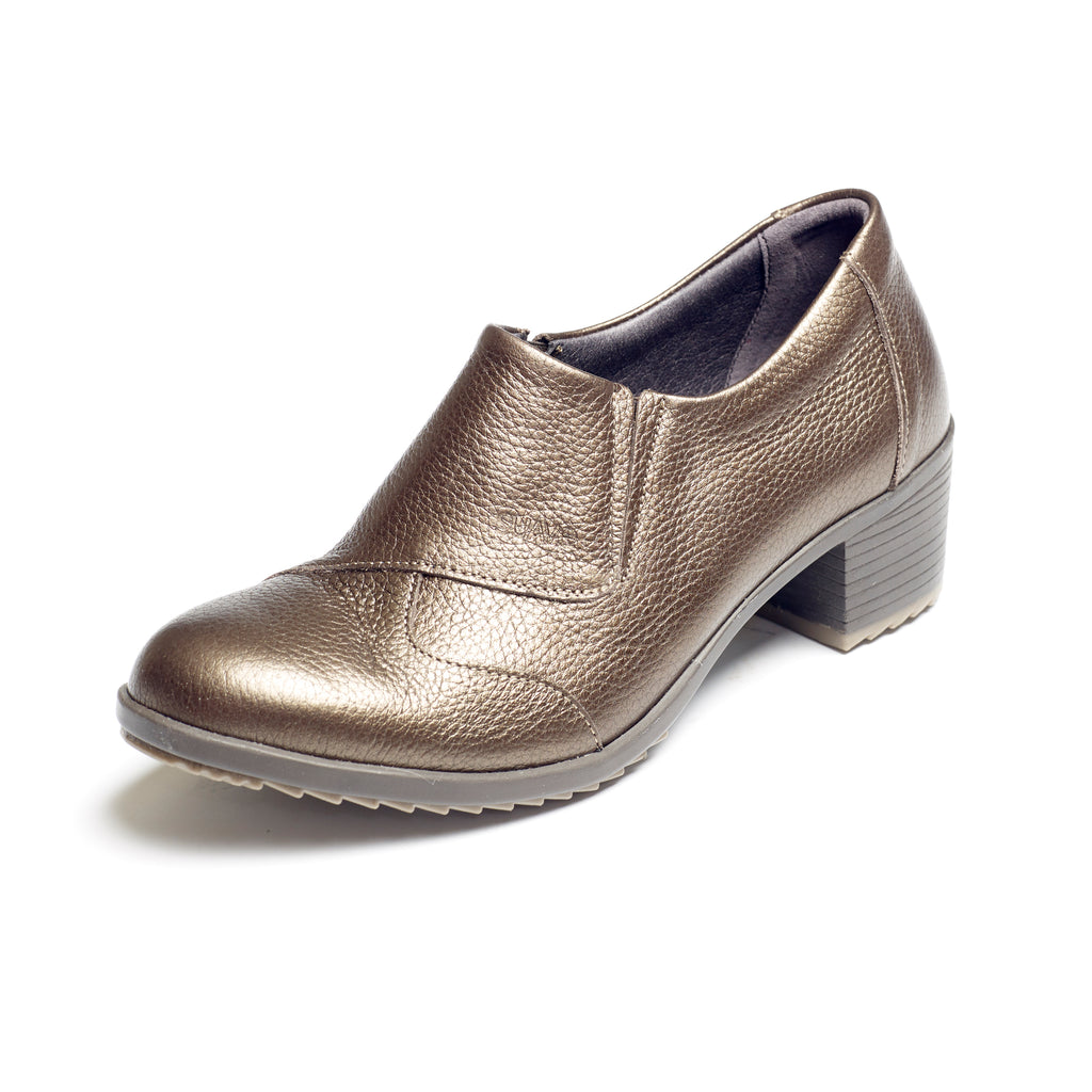 Annie - Mocca Grain Leather Shoe