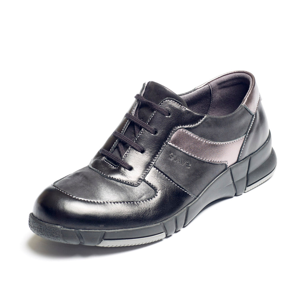 Lovell - Black Leather Shoe