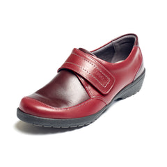 Jenny - Cherry/Burgundy Leather Shoe