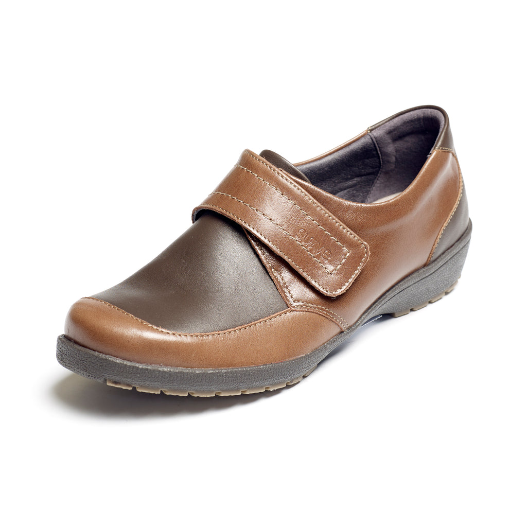 Jenny - Mocca/Coffee Leather Shoe