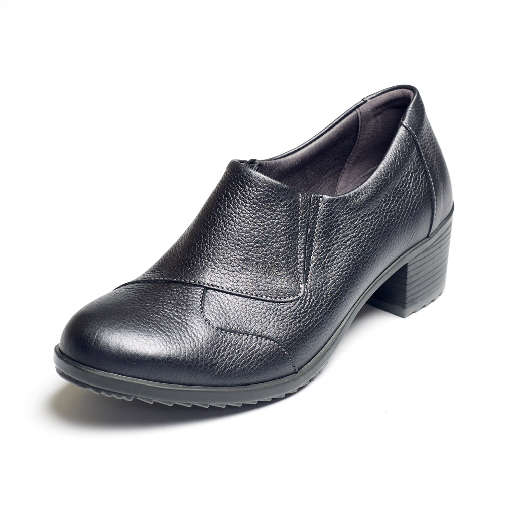 Annie - Black Grain Leather Shoe