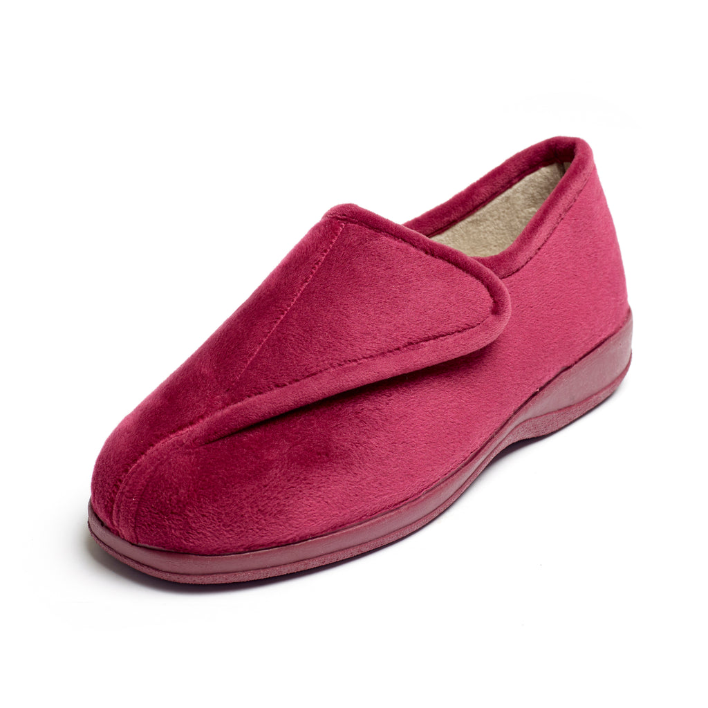 Peta - Dark Red Slipper