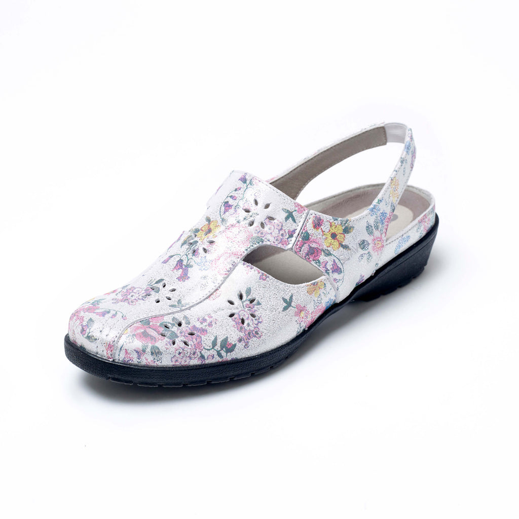 Jagger - Spring Floral Leather Shoe