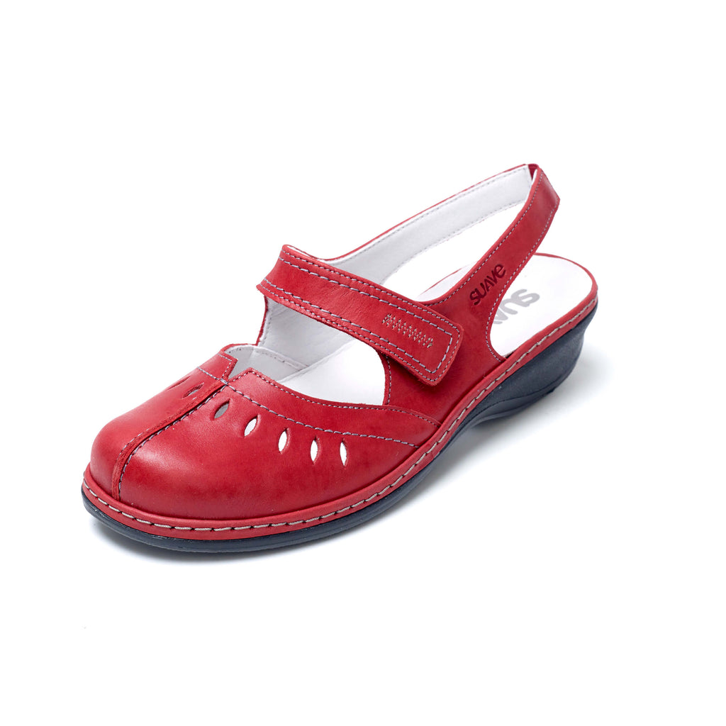 Henley - Cerise Leather Sandal