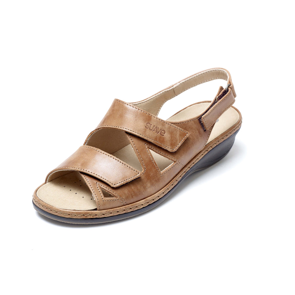 Helen - Tan Leather Sandal