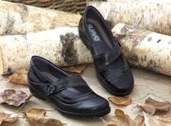 Joy - Black/Patent Leather Shoe