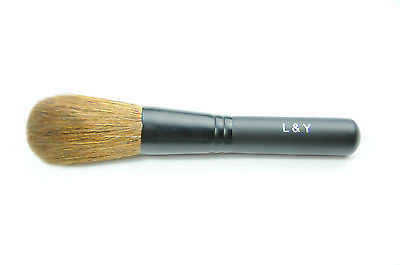 L&Y Blush Brush Travel Size with Frosted Black Handle