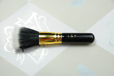 L&Y Stippling Duo Fibre Highlight Brush - Travel Size