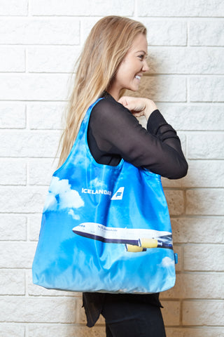 Icelandair reusable shopping bag