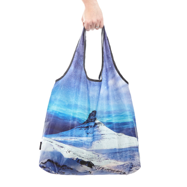Reusable shopping bag Kirkjufell