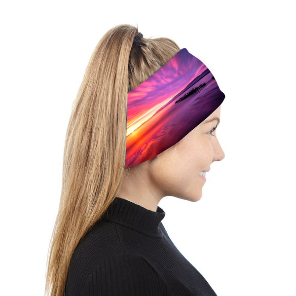 Headband Icelandic sunset