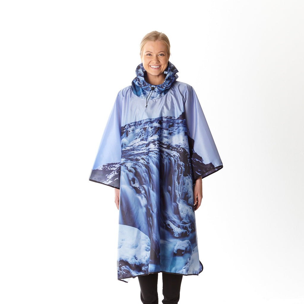 Raincoat with Gullfoss