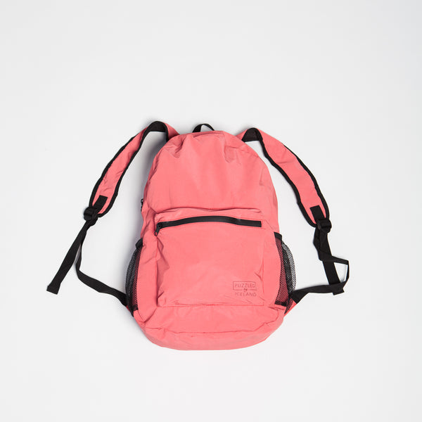 Red Reflective Backpack