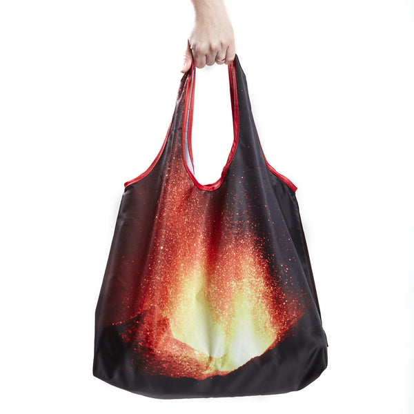Eyjafjallajokull reusable shopping bag