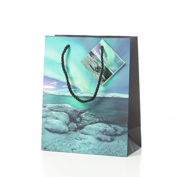 Gift bag Northern Lights large