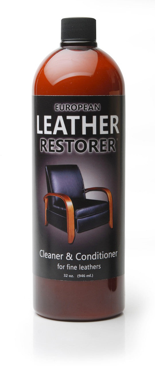 European Leather Restorer - One Step Cleaner and Conditioner