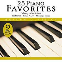 25 Piano Favorites - Golden Classics (2 CDs)
