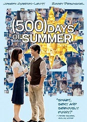 (500) Days of Summer - Zooey Deschanel and Joseph Gordon-Levitt (DVD) (WS) (LS)