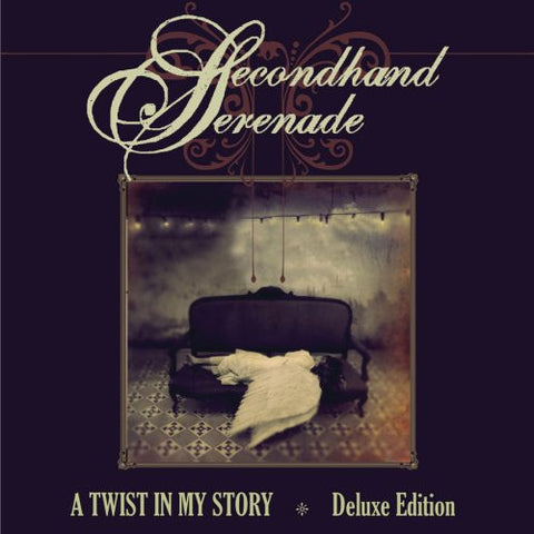 Secondhand Serenade - A Twist in my Story (Deluxe Edition (CD+DVD) Autographed on cover