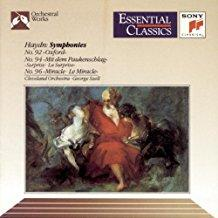 Hadyn - Symphonies Nos. 92 - Oxford, No. 94 - Surprise & No. 96 - Miracle (Essential Classics)