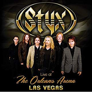 Styx - Live at The Orleans Arena (Las Vegas) (DVD) (CD TYPE CASE)