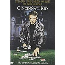 The Cincinnati Kid - Steve McQueen, Edward G. Robinson (DVD) (OM)