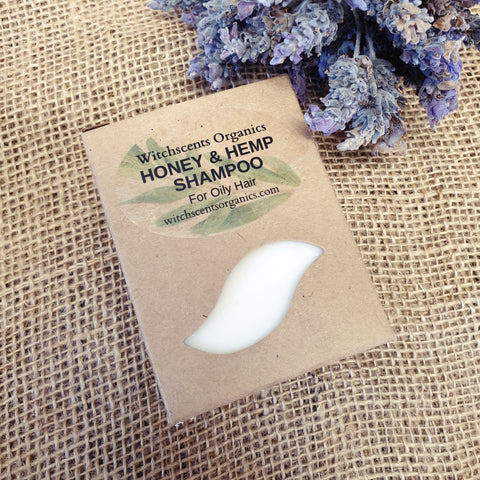 Honey & Hemp Shampoo Bar