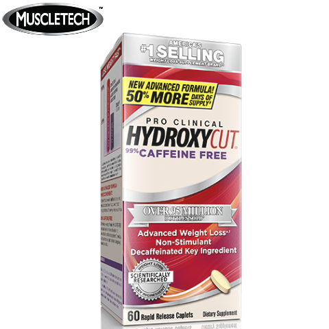 Hydroxycut Pro Clinical Caffeine Free - 72 Capsules