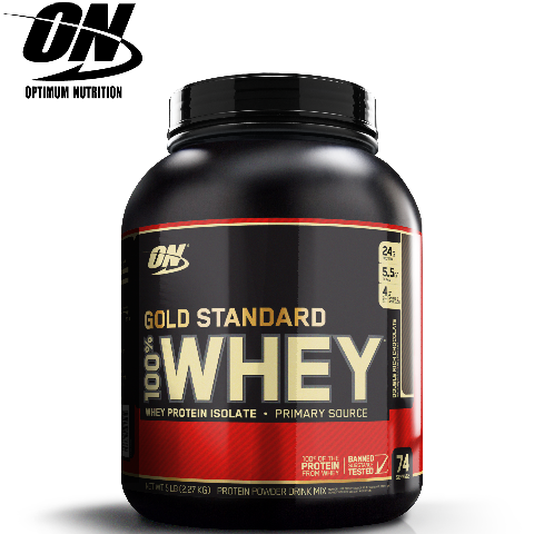 Optimum Nutrition 100% Whey Gold Standard, 5 lb