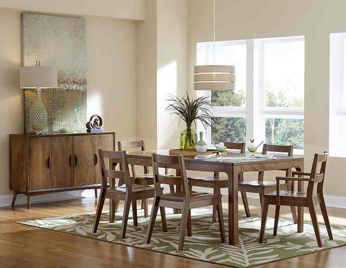 Simple Scandinavian Dining Room Ideas 10: Plain And Simple Amish Furniture